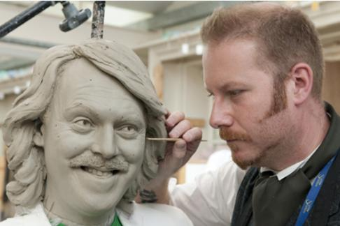 Madame Tussauds Keith Lemon clay model